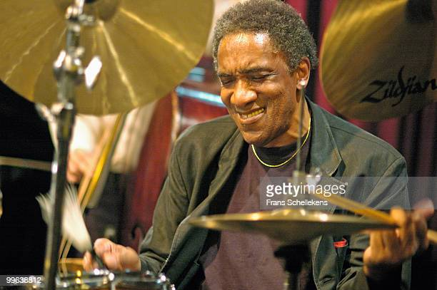 Al Foster performs live at Bimhuis in Amsterdam, Netherlands on October 28 2004