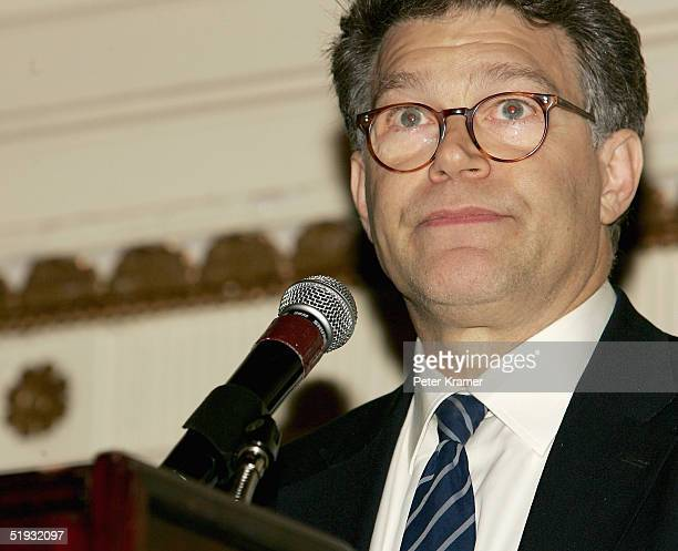 Al Franken attends The New York Critics Circle Awards dinner at the Roosevelt Hotel on January 9 2005 in New York City