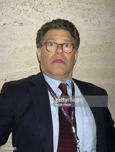 Al Franken during Newsweek Party for The Republican Convention Given by Lally Weymouth at The Four Seasons Restaurant in New York New York United...