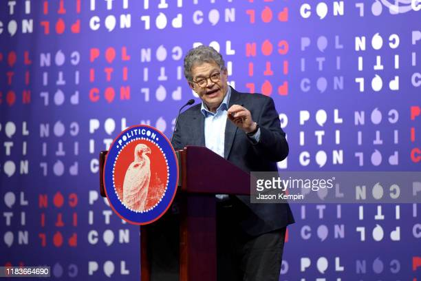 Al Franken speaks onstage during the 2019 Politicon at Music City Center on October 26 2019 in Nashville Tennessee