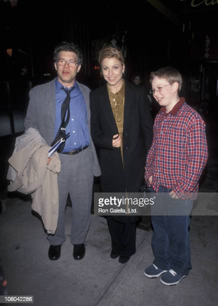 Al Franken Tatum O'Neal and Kevin McEnroe during Cookie's Fortune Premiere March 24 1999 at Park 86th Street Cinema in New York City New York United...