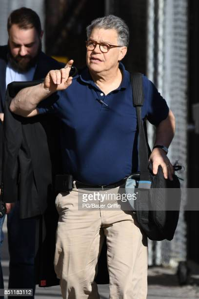 Al Franken the United States Senator from Minnesota is seen on September 21 2017 in Los Angeles California