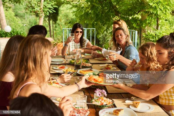 al fresco dining - andalucia stock pictures, royalty-free photos & images
