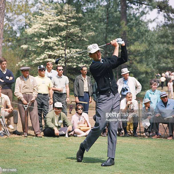 Al Geiberger during the 1966 Masters Tournament at Augusta National Golf Club in April 1966 in Augusta Georgia