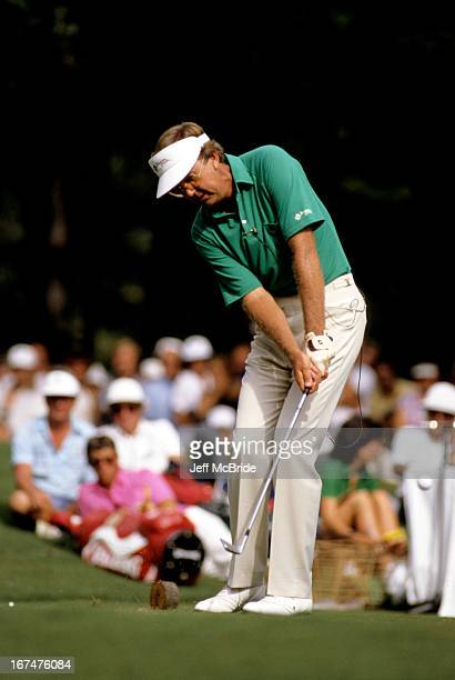 Al Geiberger during the 66th PGA Championship held at Shoal Creek Country Club in Birmingham Alabama August 1619 1984