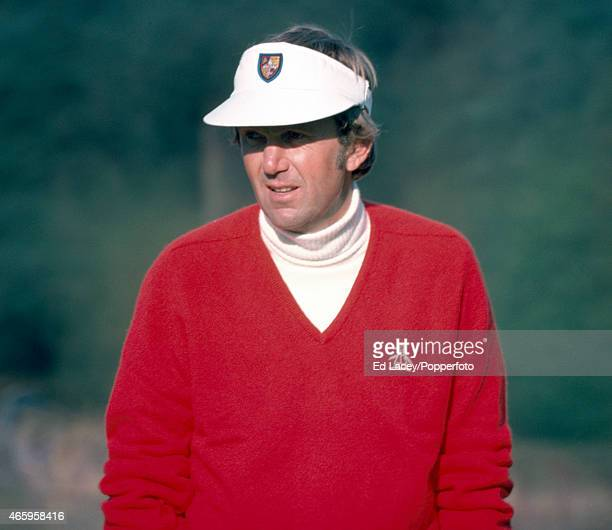 Al Geiberger of the United States during the Piccadilly Golf Tournament at Wentworth circa 1975