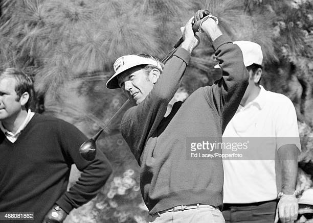 Al Geiberger of the United States in action during the US Masters Golf Tournament in Augusta Georgia circa April 1970