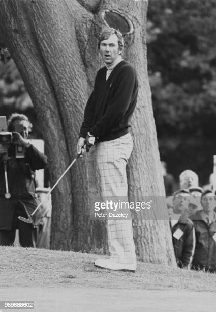 Al Geiberger putting in the Piccadilly world match play championship 2nd hole West Course Wentworth also known as Allen Lee Geiberger