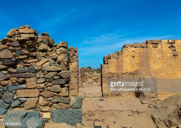 Al Ghazali christian monastery Northern State Wadi Abu Dom Sudan on December 27 2018 in Wadi Abu Dom Sudan