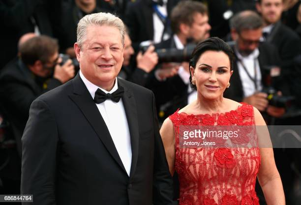 Al Gore and Elizabeth Keadle of 'An Inconvenient Sequel Truth to Power' attend the 'The Killing Of A Sacred Deer' screening during the 70th annual...