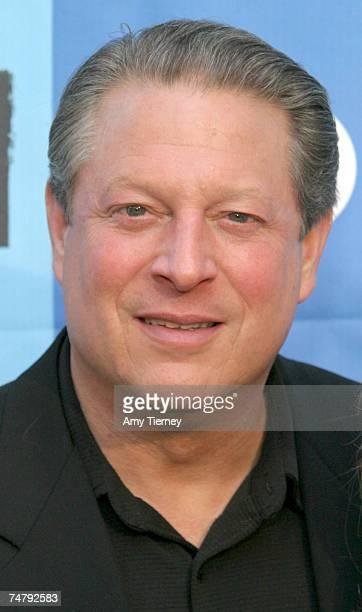 Al Gore at the California Plaza in Los Angeles, California