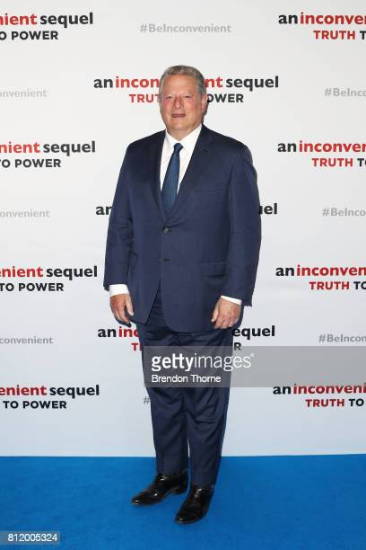 Al Gore attends a special screening of 'An Inconvenient Sequel Truth to Power' at Event Cinemas Bondi Junction on July 10 2017 in Sydney Australia