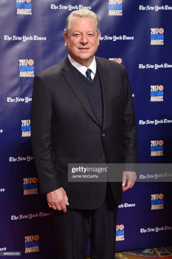 Al Gore attends the 2017 IFP Gotham Awards at Cipriani Wall Street on November 27, 2017 in New York City.