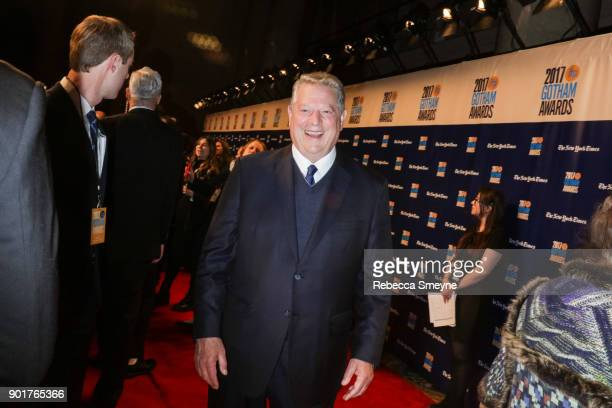 Al Gore attends the 2017 IFP Gotham Awards at Cipriani Wall Street on November 27 2017 in New York NY