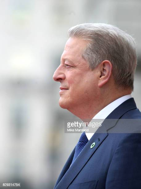 Al Gore attends the 'An Inconvenient Sequel Truth To Power' premiere at Somerset House on August 10 2017 in London England