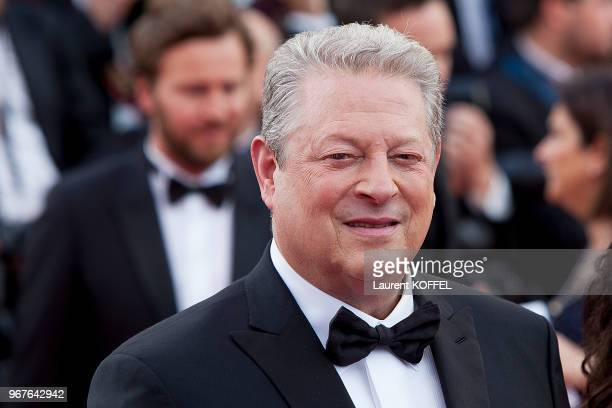 Al Gore attends 'The Killing Of A Sacred Deer' premiere during the 70th annual Cannes Film Festival at Palais des Festivals on May 22 2017 in Cannes...