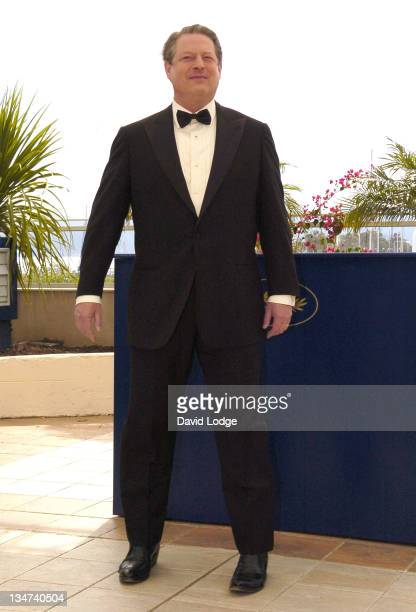 """Al Gore during 2006 Cannes Film Festival - """"An Inconvenient Truth"""" Photocall at Palais du Festival Terrace in Cannes, France."""