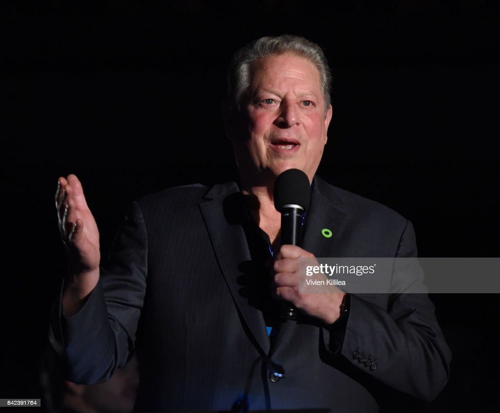 Al Gore introduces 'An Inconvenient Sequel' at the Telluride Film Festival 2017 on September 2, 2017 in Telluride, Colorado.