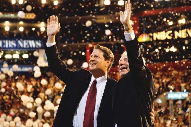 Al Gore, Jr. and Joseph Lieberman