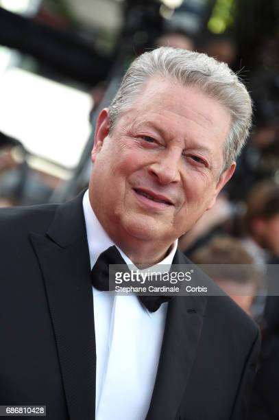 Al Gore of 'An Inconvenient Sequel Truth to Power' attends 'The Killing Of A Sacred Deer' premiere during the 70th annual Cannes Film Festival at...