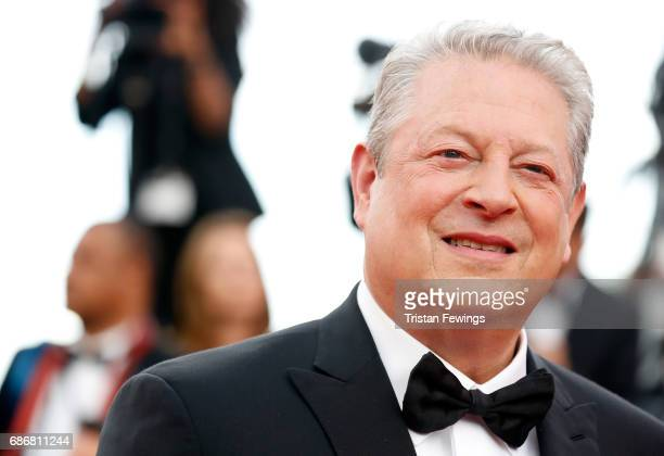 Al Gore of 'An Inconvenient Sequel Truth to Power' attends the 'The Killing Of A Sacred Deer' screening during the 70th annual Cannes Film Festival...