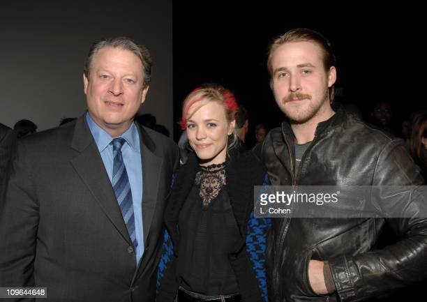Al Gore Rachel McAdams and Ryan Gosling *EXCLUSIVE*