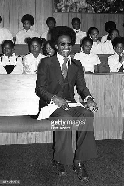 Al Green at his church Full Gospel Tabernacle in Memphis Tennessee on January 8 1978