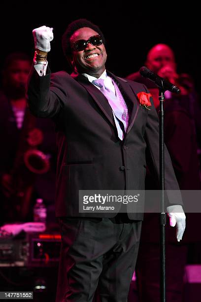 Al Green performs at Hard Rock Live in the Seminole Hard Rock Hotel Casino on July 2 2012 in Hollywood Florida