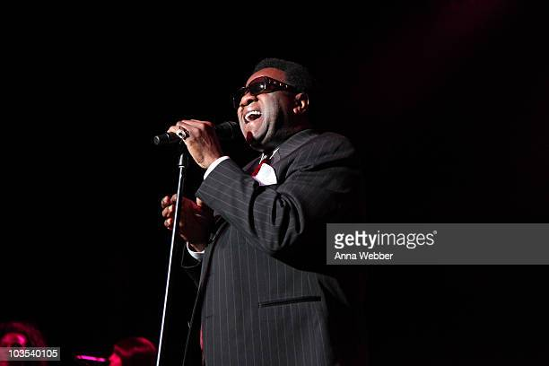 Al Green Performs At The Greek Theatre on August 21, 2010 in Los Angeles, California.