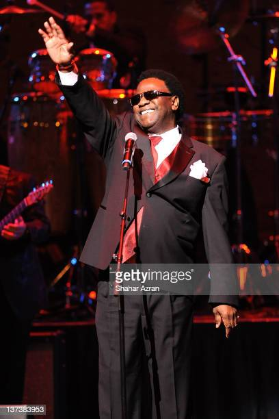 Al Green performs at the Obama Victory Fund 2012 Concert at The Apollo Theater on January 19 2012 in New York City
