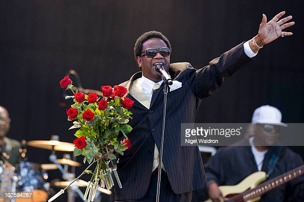 Al Green performs at The Opera House on July 2 2010 in Oslo