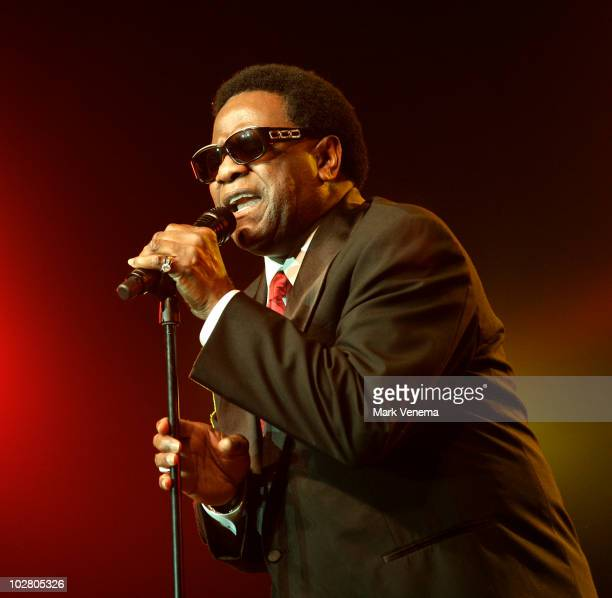 Al Green performs live at day 2 of The North Sea Jazz Festival at Ahoy on July 10 2010 in Rotterdam Netherlands