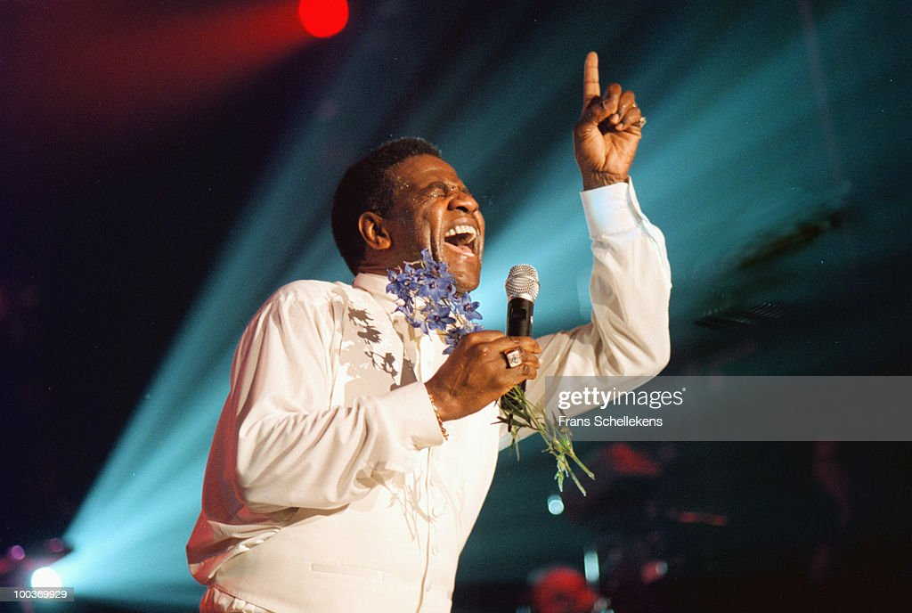 Al Green performs live on stage at the North Sea Jazz Festival in The Hague, Netherlands on July 10 1999