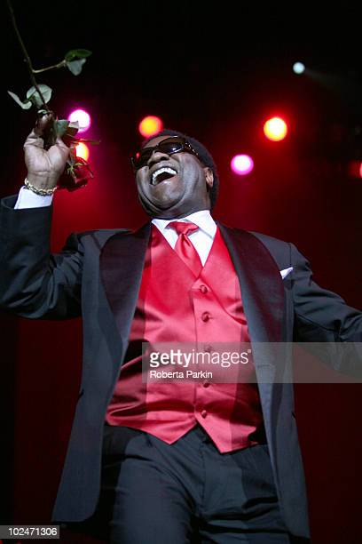 Al Green performs on stage at O2 Arena on June 27 2010 in London England