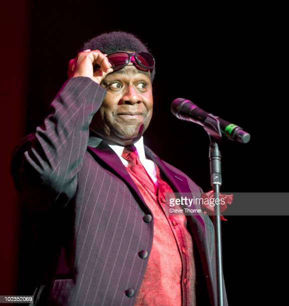 Al Green performs on stage at the LG Arena on June 23 2010 in Birmingham England