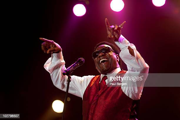 Al Green performs on stage during the North Sea Jazz Festival at Ahoy on July 11 2010 in Rotterdam Netherlands