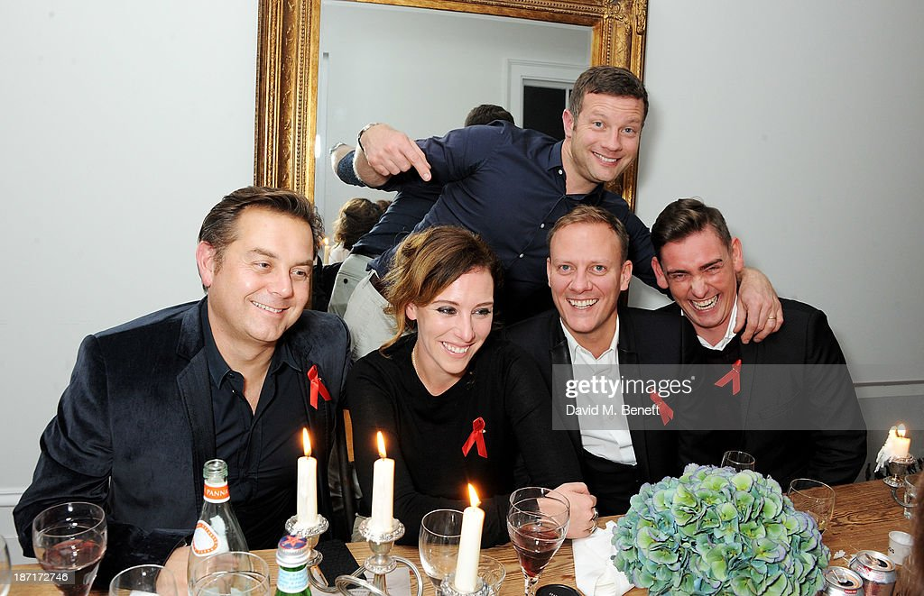 Dermot O'Leary Hosts A 'Supper Club' Dinner For The Terrence Higgins Trust