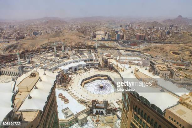 al haram mosque - al haram mosque stock photos and pictures