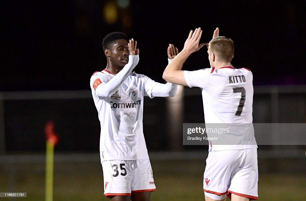 FFA Cup Round of 16 - Olympic FC v Adelaide United : News Photo