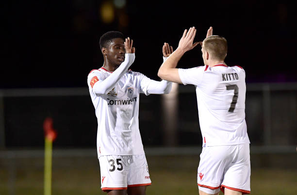 AUS: FFA Cup Round of 16 - Olympic FC v Adelaide United