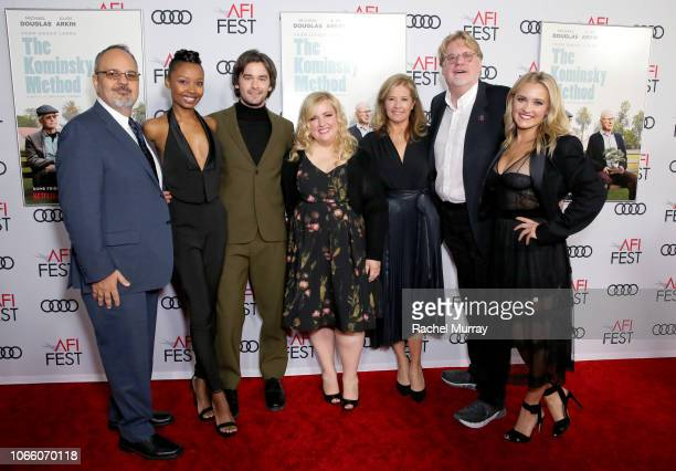 Al Higgins Ashleigh LaThrop Casey Thomas Brown Sarah Baker Nancy Travis Donald Petrie and Emily Osment attend the Los Angeles Premiere of 'The...