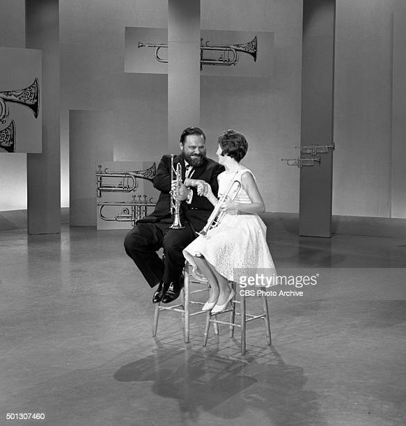 Al Hirt host of the show and Carole Reinhart on FANFARE Image dated June 16 1965 Original air date June 19 1965