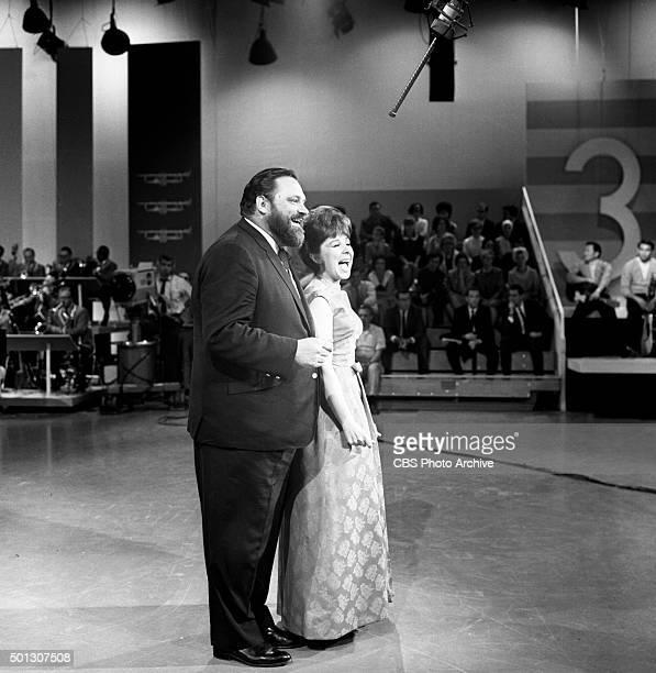 Al Hirt host of the show and Eydie Gorme on FANFARE Image dated June 16 1965 Original air date June 19 1965