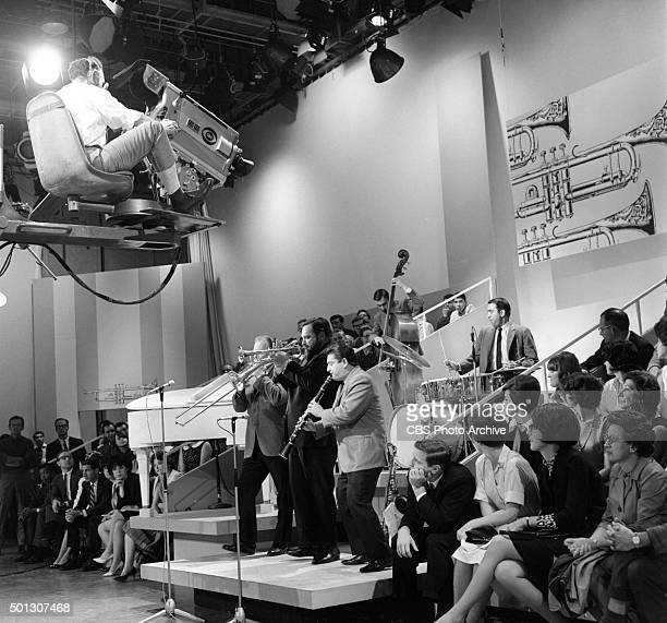 Al Hirt host of the show center on trumpet perform on FANFARE Image dated June 16 1965 Original air date June 19 1965