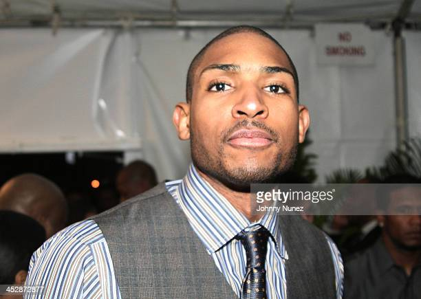 Al Horford attends the Kenny Smith 8th Annual AllStar Bash on February 12 2010 in Dallas Texas