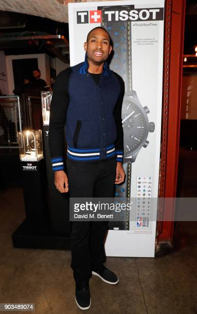 Al Horford attends The Tissot x NBA Launch Party at BEAT on January 10 2018 in London England