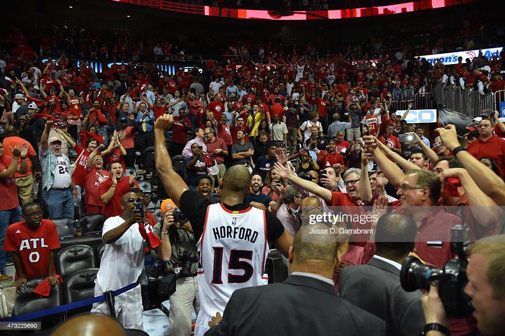 Washington Wizards V Atlanta Hawks - Game five : News Photo