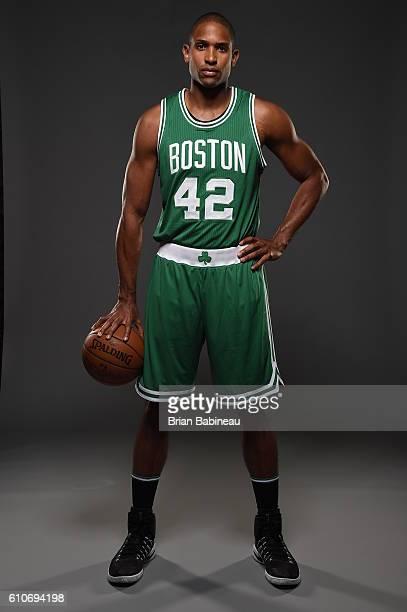 Al Horford of the Boston Celtics poses for a portrait during 20162017 Boston Celtics Media Day at TD Garden on September 26 2016 in Boston...