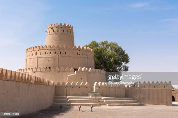 al jahili fort (qasr al jahili), al ain, united arab emirates - tradition stock pictures, royalty-free photos & images
