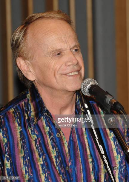 Al Jardine during Brian Wilson Performs Songs From Pet Sounds to Support Definitive 200 Campaign at Capitol Studios Studio A in Hollywood California...